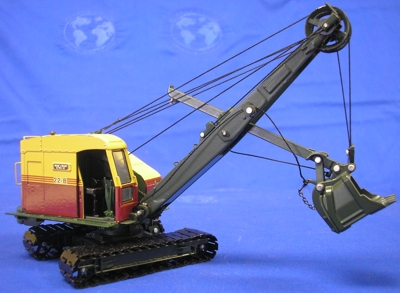 Bucyrus-Erie 22-B cable shovel